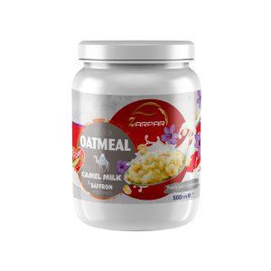 اوتمیل فوری شیر شتر با زعفران